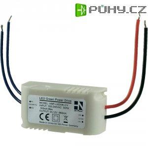 Vestavný spínaný zdroj HN Power HNP-LED08-CV LED, 12 VDC, 8 W