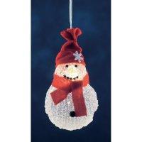 Vánoční osvětlení do okna Konstsmide LED sněhulák