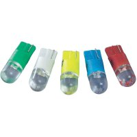 LED žárovka W2.1x9.5d Barthelme, 70113008, 12 V, 0,9 lm, modrá