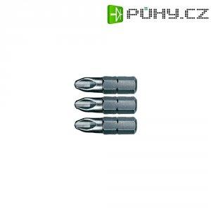 Křížové PH bity Wiha, chrom-vanadiová ocel, velikost 0/1/2, 25 mm