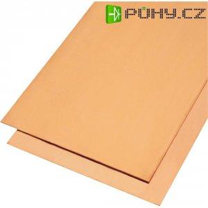 Měděná deska Modelcraft, 400 x 200 x 2,0 mm