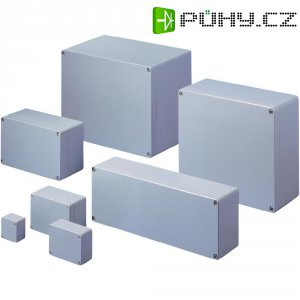 Hliníkové pouzdro Rittal, 9105,210, 125 x 57 x 80 mm, IP66, šedá