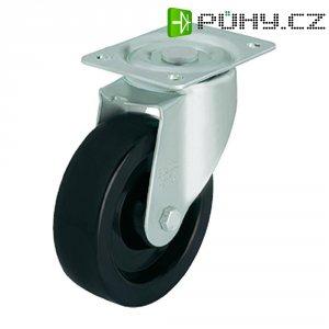 Tepelně odolné otočné kolečko s konstrukční deskou, Ø 125 mm, Blickle LI-PHN 125G