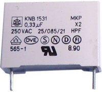 330n/250V~ MKPX2, svitkový kondenzátor radiální