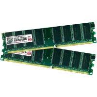 Sada operacní paměťi pro PC Transcend 2 GB DDR 400 MHz