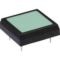 Tlačítko NKK Switches JF15SP1C, 24 V/DC, 0,05 A, pájecí piny, 1x vyp/(zap)