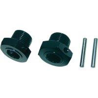 Unašeč kola 17 mm 6-hraný Reely MV107BA, 1:8, černý hliník, 2 ks