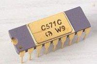 C571C A/D převodník 10bit. /AD571/