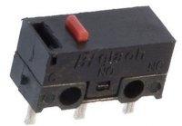 Mikrospínač ON-(ON) 1pol.125V/1A
