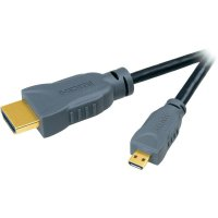 Speaka High Speed HDMI kabel s ethernetem micro, 1,5 m