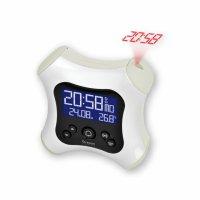 Digitální budík s projekcí času RM330PW