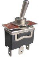 Přepínač páčkový ON-ON 1pol.250V/10A