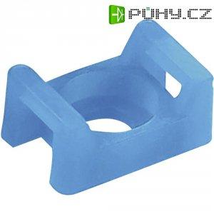 Držák na stahovací pásky Panduit TM3S10-C76, vis M4, modrá