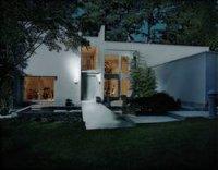 Dvojitý LED reflektor s PIR čidlem Osram Noxlite, 2x 8 W,černá