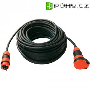 Prodlužovací kabel AS Schwabe, 10 m, 1,5 mm², černá