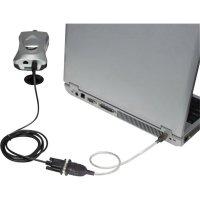 Adaptér Manhattan USB 1.1 sériový, 9-pinový, šedý, 0,45m