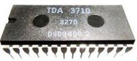 TDA3710 - obvod pro VHS , DIL28
