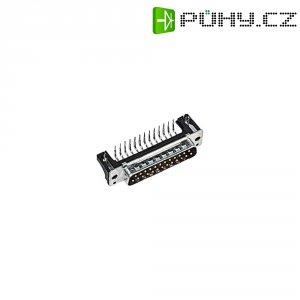 D-SUB kolíková lišta Harting 09 66 162 6815, 9 pin, úhlová