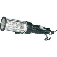 Akumulátorová LED svítilna s výstražným světlem, IP44