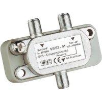 Satelitní rozbočovač Axing, SWE 2-50, 3 dB, 5 - 2400 MHz, 1x SAT, 1X VHF/UHF, 1x TV