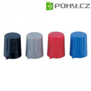 Otočný knoflík s ukazatelem Strapubox POMELLO 12/4 MM NERO, 12/4 mm, 4 mm, černá