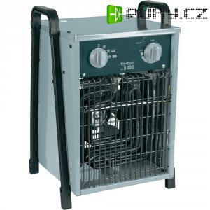 Elektrický přímotop Einhell EH5000, ventilace/2500/5000 W , šedá/černá