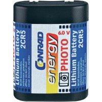 Lithiová fotobaterie Conrad energy 2CR5 6 V