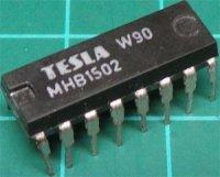 MHB1502 - aproximační registr, DIL16