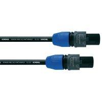 Cordial® CLS 225, 2x 2,5 mm² černá černá Speakon 2pól./Speakon 2pól.