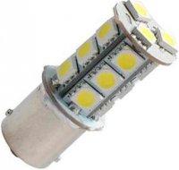 Žárovka LED Ba15S 12V/3W bílá, 18xSMD5050