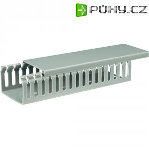 Elektroinstalační lišta, 65x45 mm, 2 m, šedá