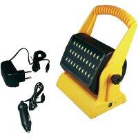 Akumulátorový pracovní LED reflektor 500 20893, černá/žlutá