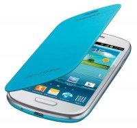 Samsung flipové pouzdro EFC-1M7FW pro Galaxy S III mini (i8190), bílá EFC-1M7FLEGSTD