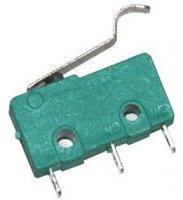 Mikrospínač ON-(ON) 250V/5A s páčkou 23mm