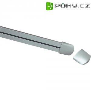 Nízkonapěťová kolejnice SLV, 138221, 1 m, 12 V, stříbrná/šedá