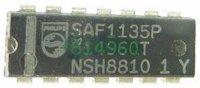 SAF1135P - dekodér I2C-BUS, DIL14