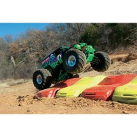 RC model EP Monstertruck Traxxas Grave Digger, 1:10, 2WD, RtR 27 MHz AM