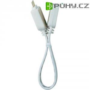 Propojovací kabel k LED pásu Paulmann YourLED, 10 cm, bílá (70215)