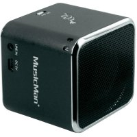 Bluetooth® reproduktor Technaxx MusicMan® Mini Wireless Soundstation BT-X2, černá