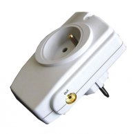 Přepěťová ochrana 1 zásuvka 714J PO22 anténní konektor