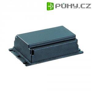 Plastová modulová skříň, (d x š x v) 99 x 66 x 30,6 mm, černá