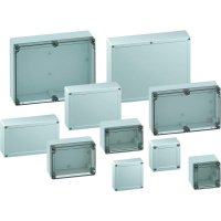 Svorkovnicová skříň polykarbonátová Spelsberg TG PC 88-9-to, (d x š x v) 84 x 82 x 85 mm, šedá