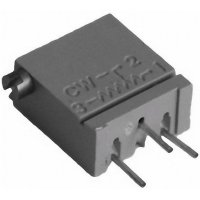 Cermetový trimr TT Electro, 2094110305, 100 Ω, 0,5 W, ± 10 %