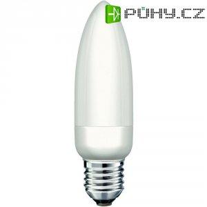 Úsporná žárovka svíčka Narva KLE-C Colourlux Plus E27, 9 W, teplá bílá