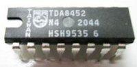 TDA8452 - PAL-SECAM-NTSC dekodér, DIL16