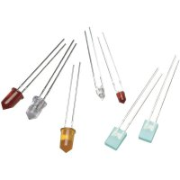 LED dioda s vývody Avago Technologies, HLMP-1440, 20 mA, 3 mm, 2,1 V, 45 °, 45 mcd, žlutá