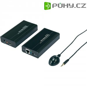 HDMI prodloužení, síťový kabel, 150 m