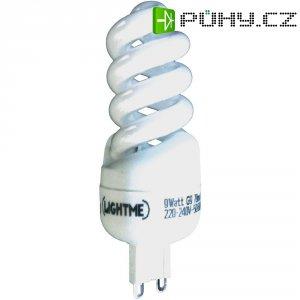 Úsporná žárovka spirálová Lightme Full Spiral G9, 9 W