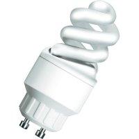 Úsporná žárovka spirálová Osram Superstar Nano Twist GU10, 5 W, studená bílá