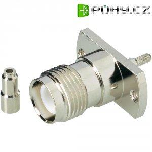 Konektor TNC Reverse BKL Electronic 419410, 50 Ω, zásuvka vestavná vertikální